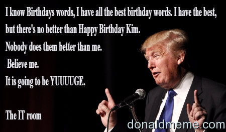 the best birthday words