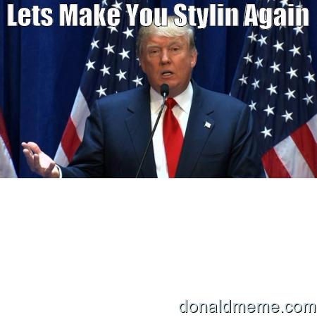 Donald Trump Suit Meme
