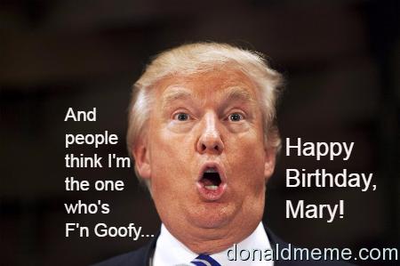 Happy Birthday, Mary!