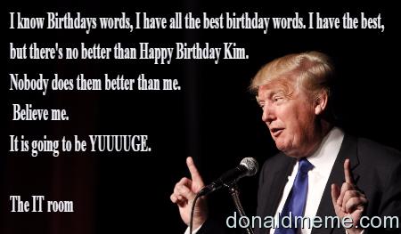 the best birthday words
