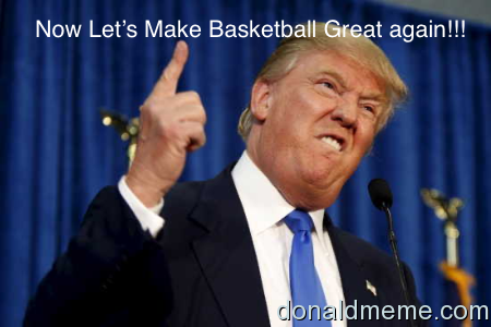 Make basketball great again