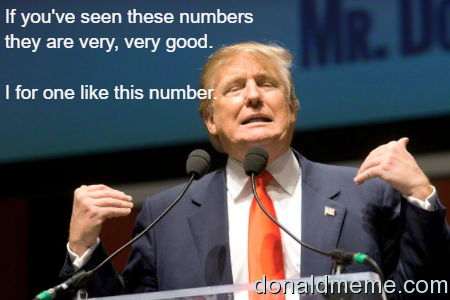 Trumps numbers