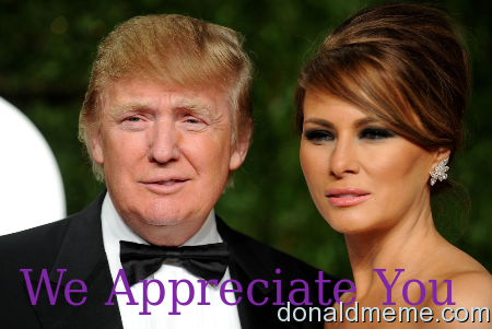 Grateful for POTUS & FLOTUS